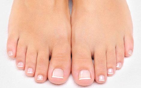image of infections of the foot nails and skin